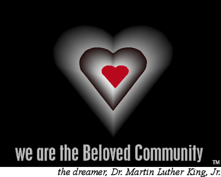 we are the Beloved Community logo